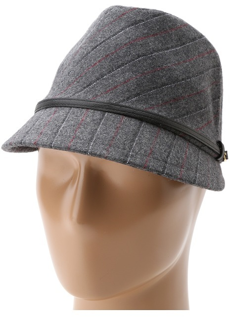 San Diego Hat Company ECO1066 Up-Cycled Belted Fedora Cap