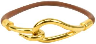 Hermes Jumbo Brown Leather Bracelets
