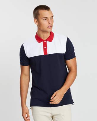 Tommy Hilfiger WCC Colour-Block Regular Polo