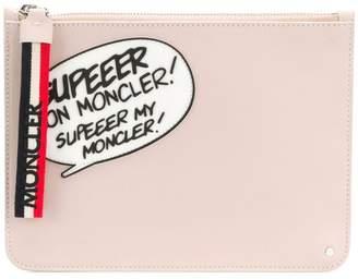 Moncler comic clutch