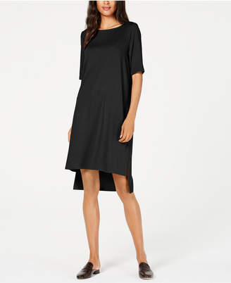 Eileen Fisher Tencel High-Low T-Shirt Dress, Regular & Petite