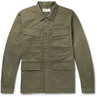 Universal Works Cotton-Twill Shirt Jacket