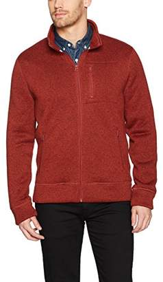 Lucky Brand Men's Shearless Fleece Mock Neck Sweater