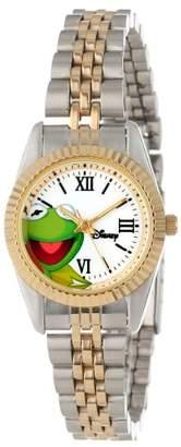 EWatchFactory Disney Women's W000579 Kermit The Frog Two-Tone Status Watch