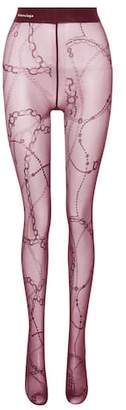Balenciaga Printed tights