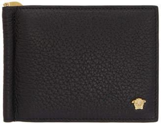 Versace Black Slim Medusa Wallet