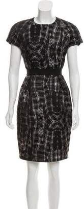 Proenza Schouler Knee-Length Abstract Dress