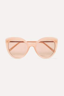 Cat Eye Andy Wolf - Grace Cat-eye Acetate Sunglasses - Pink