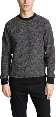 Theory Speckled Herringbone Sweatshirt
