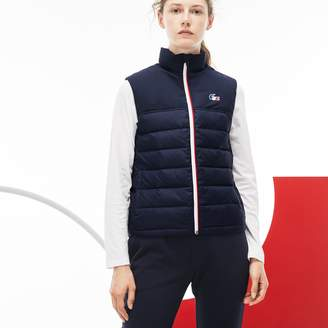 Lacoste Women's French Sporting Spirit Edition Quilted Vest