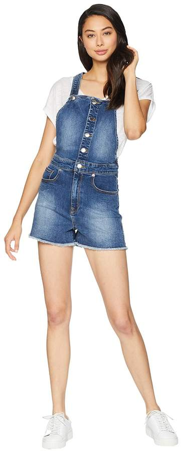 Juicy Couture Juicy Banana Patch Shorts Overall Women's Overalls One Piece