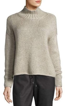 Eileen Fisher Fisher Project Hand-Knit Silk/Cashmere Box Top $498 thestylecure.com