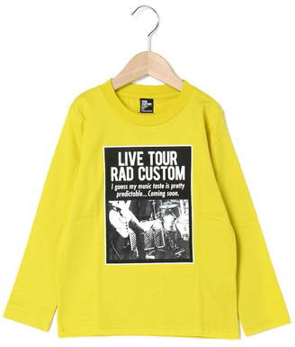 RAD CUSTOM (ラッド カスタム) - RAD CUSTOM 天竺写真分解Tシャツ ベベ オンライン ストア カットソー