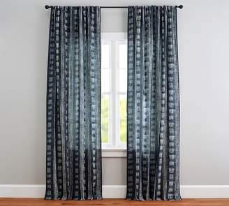 Pottery Barn Shibori Dot Curtain