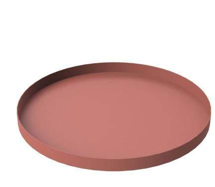 Cooee Design Tablett Circle rund 30cm, rust