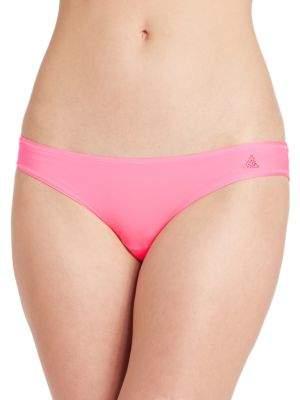 Betsey Johnson Ruched Back Bikinis