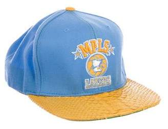 Mitchell & Ness Just Don x RSVP Gallery Python-Trimmed MPLS Lakers Hat