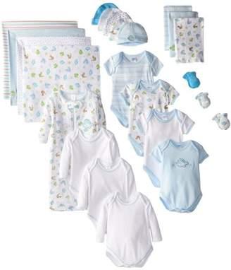 SpaSilk 23 Piece Baby Layette Giftset, Boy, 0-6 mo