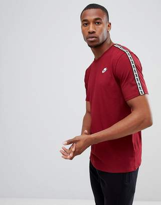 Nike Taping T-Shirt In Red AR4915-677