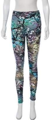Mary Katrantzou Mid-Rise Printed Leggings