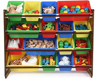 TOT Tutors WO420 Discover Collection Supersized Wood Toy Storage Organizer