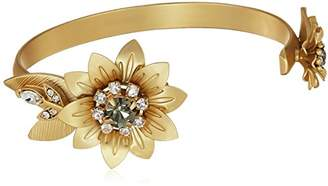 Badgley Mischka Women's Petal Cuff Bracelet