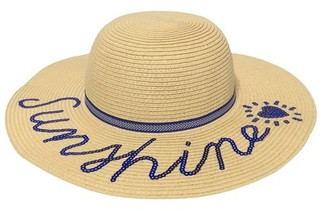 Cat & Jack Girls' Sunshine Floppy Hat Cat & Jack - Tan One Size $9.99 thestylecure.com