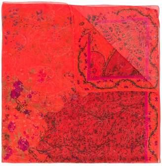 Floral · Scarf Etro En Farfetch Print Mixed AZnfR