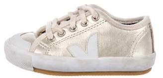 Veja Girls' Leather Sneakers