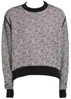 Givenchy Oversized Cotton Logo Sweatshirt