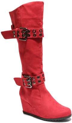 2 Lips Too Norma Women's Knee High Wedge Boots
