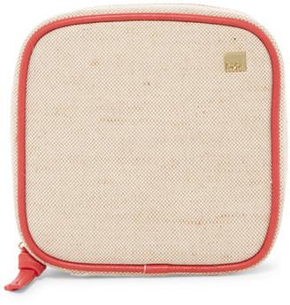 Kooba Nice Linen Jewelry Case $52 thestylecure.com