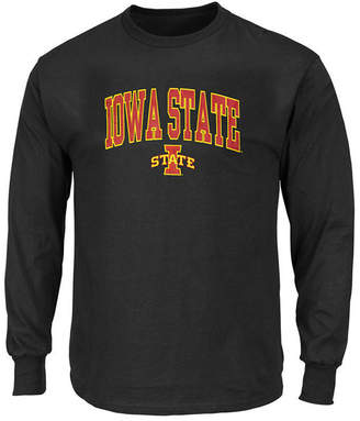 Profile Men Big & Tall Iowa State Cyclones Wordmark Long Sleeve T-Shirt