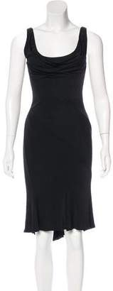 Gianni Versace Sleeveless Midi Dress