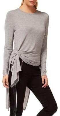 Dex Knotted Knit Tunic