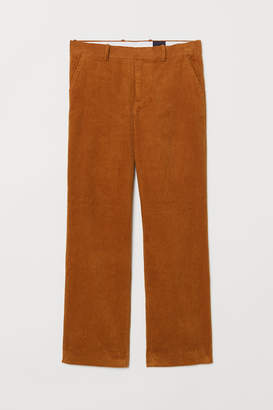 H&M Corduroy Pants - Yellow