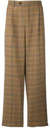 Lc23 plaid tailored trousers