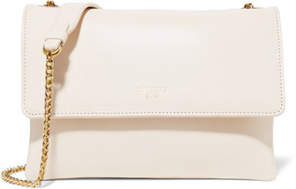 Lanvin - Sugar Mini Leather Shoulder Bag - Ivory $1,495 thestylecure.com