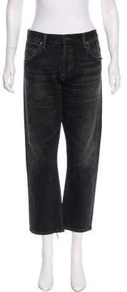 Citizens of Humanity Distressed Mid-Rise Jeans