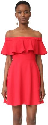 Black Halo Penelope Mini Dress $345 thestylecure.com