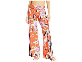 Trina Turk Shangri LA Roll Top Pants Cover-Up
