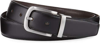 Cole Haan Men's Feather-Edge Reversible Leather Belt