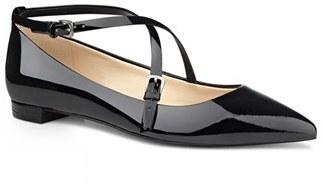 Women's Nine West 'Anastagia' Pointy Toe Flat $88.95 thestylecure.com