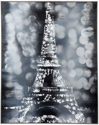 Cafe Lighting & Living & Living In Paris Framed Canvas Painting