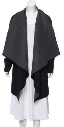 Michael Kors Wool-Blend Oversize Coat