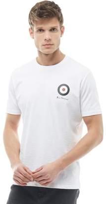 Ben Sherman Target T-Shirt Bright White