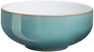 Denby Azure Cereal Bowl, Blue, Dia.15.5cm