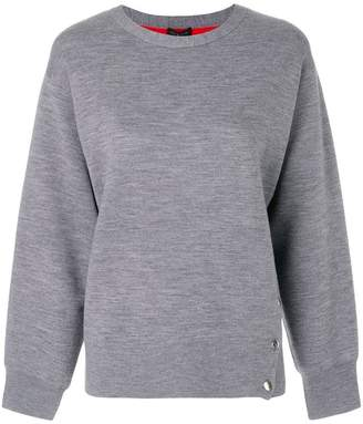Rag & Bone sweatshirt with side buttons