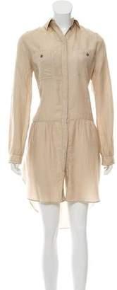 Dolce & Gabbana Silk-Blend Mini Dress