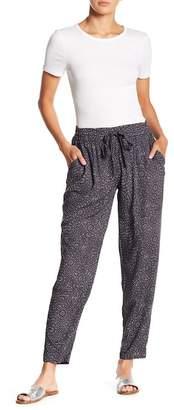 Susina Printed Easy Pull-On Pants